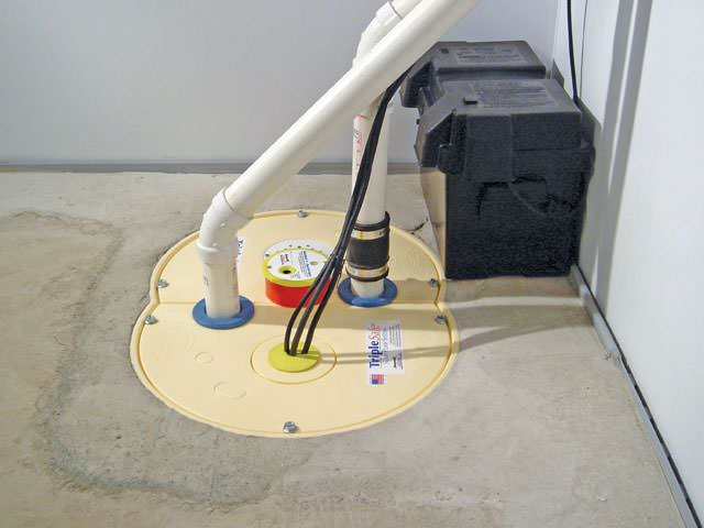 Our Basement Waterproofing System Will Keep Your Home Dry All The Time.  Sump Pump Installation In Du Bois ...