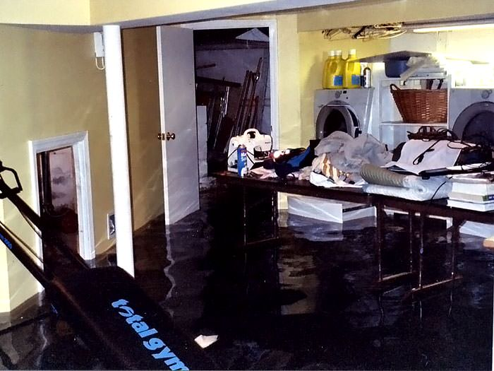 Basements flooding from plumbing failures in du bois olean a laundry room flood in ridgway with several feet of water flooded in solutioingenieria