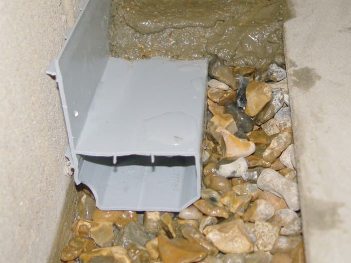 interior basement drainage in pennsylvania and new york basement