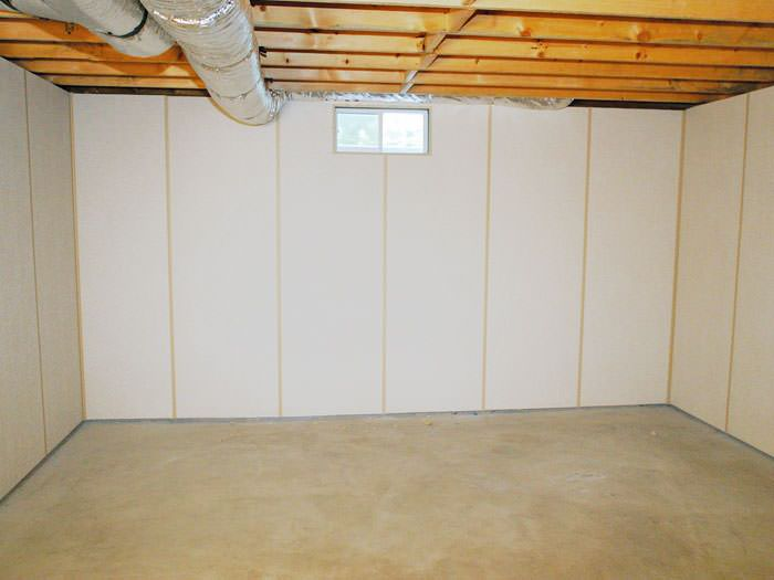 insulated basement wall panels installed in pa and ny basement wall