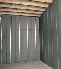 Thermal insulation panels for basement finishing in Warren, Pennsylvania and New York